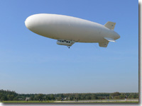 Au-30 airship in flight (Kirzhach)